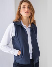 Ladies Sleeveless Microfleece Jacket