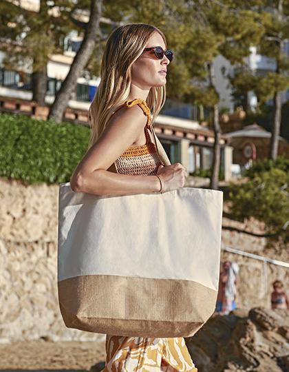 Jute Base Canvas Bag XL